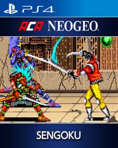 ACA NEOGEO SENGOKU PS4 PSN Mídia Digital