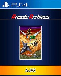 Arcade Archives A-JAX PS4 PSN Mídia Digital