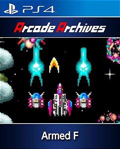 Arcade Archives Armed F PS4 PSN Mídia Digital