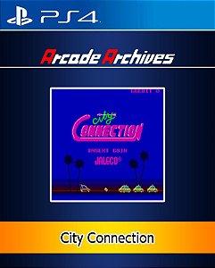 Arcade Archives City CONNECTION PS4 PSN Mídia Digital