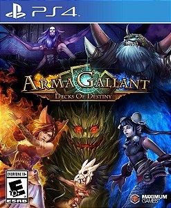 ArmaGallant Decks of Destiny  PS4 PSN Mídia Digital