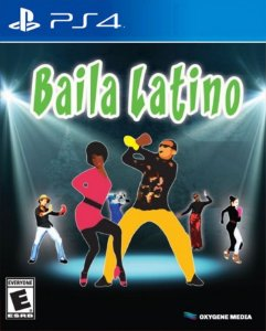 Baila Latino PS4 PSN Mídia Digital