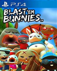 Blast 'Em Bunnies PS4 PSN Mídia Digital