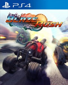 BlazeRush PS4 PSN Mídia Digital