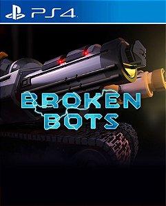 Broken Bots PS4 PSN Mídia Digital