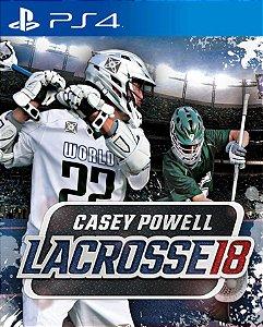 Casey Powell Lacrosse 18  PS4 PSN Mídia Digital