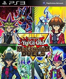 Yu-Gi-Oh! Millennium Duels PS3 PSN Mídia Digital Promoção