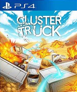 ClusterTruck PS4 PSN Mídia Digital