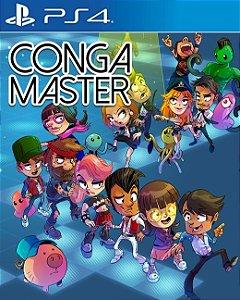 Conga Master  PS4 PSN Mídia Digital