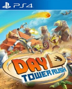 Day D Tower Rush PS4 PSN Mídia Digital