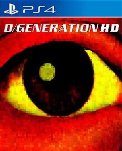 D/Generation HD PS4 PSN Mídia Digital