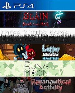 Digerati Bundle 5 Pack Part 5 PS4 PSN Mídia Digital