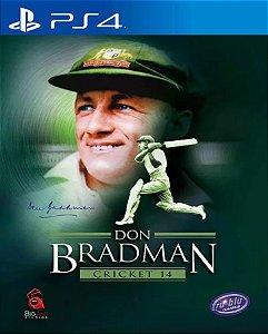 Don Bradman Cricket PS4 PSN Mídia Digital