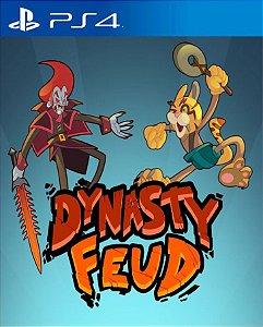 Dynasty Feud PS4 PSN Mídia Digital