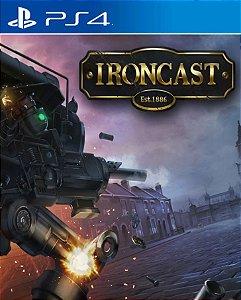 Ironcast PS4 PSN Mídia Digital