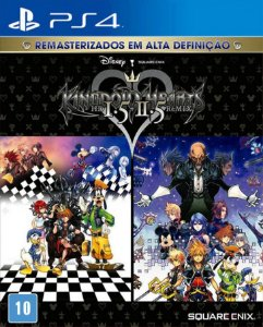 KINGDOM HEARTS HD 1.5 +2.5 ReMIX PS4 PSN Mídia Digital