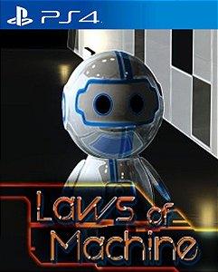 Laws of Machine PS4 PSN Mídia Digital