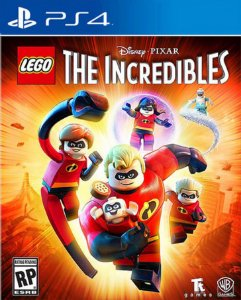LEGO® The Incredibles / Os incríveis PS4 PSN Mídia Digital