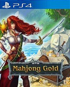 Mahjong Gold  PS4 PSN Mídia Digital