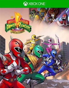 Saban's Mighty Morphin Power Rangers: Mega Battle  Xbox One Código de Resgate 25 Dígitos