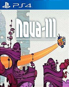 Nova-111 PS4 PSN Mídia Digital