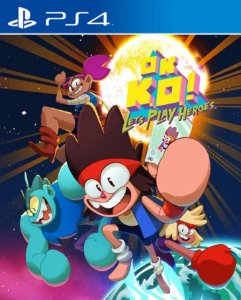 OK K.O.! Let's Play Heroes PS4 PSN Mídia Digital