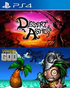 Pocket God vs Desert Ashes PS4 PSN Mídia Digital