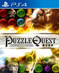 Puzzle Quest: Challenge of the Warlords  PS4 PSN Mídia Digital