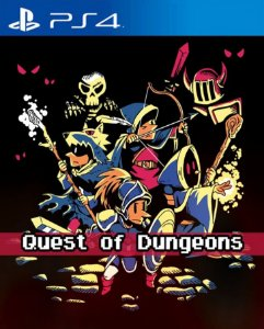 Quest of Dungeons  PS4 PSN Mídia Digital