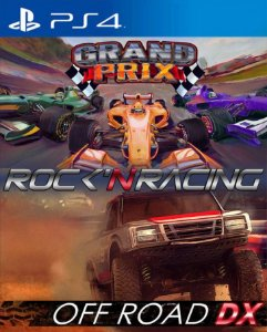 Rock 'N Racing bundle  PS4 PSN Mídia Digital