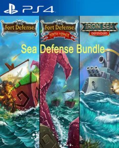 SEA DEFENSE BUNDLE  PS4 PSN Mídia Digital