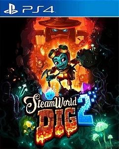 SteamWorld Dig 2 PS4 PSN Mídia Digital