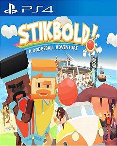 Stikbold! A Dodgeball Adventure  PS4 PSN Mídia Digital
