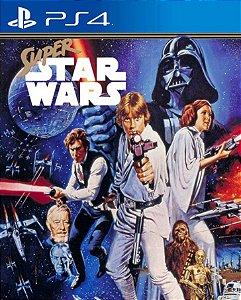 Super Star Wars PS4 PSN Mídia Digital