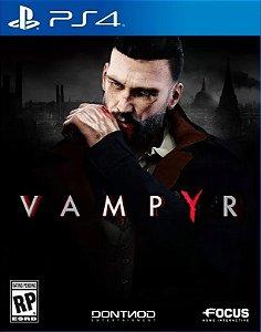Vampyr PS4 PSN Mídia Digital