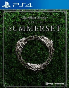 The Elder Scrolls Online Summerset PS4 PSN Mídia Digital