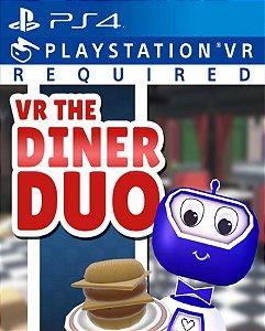VR The Diner Duo PS4 PSN Mídia Digital