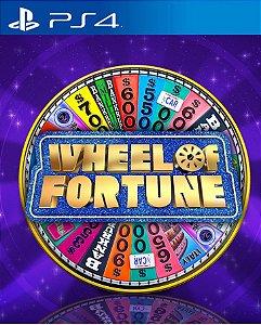 Wheel of Fortune PS4 PSN Mídia Digital
