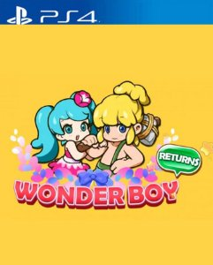 WONDER BOY RETURNS PS4 PSN Mídia Digital