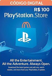 Psn CARD 100R$ Playstation Network