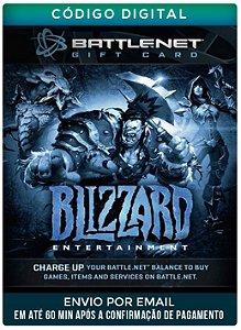 Cartão Blizzard 30R$