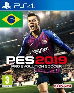 PES 19 Pro Evolution Soccer 2019 PS4  PSN Mídia Digital