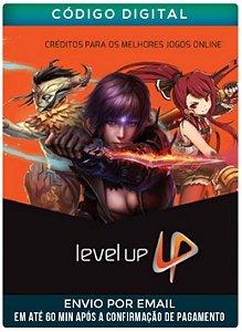 Level up 20 R$ Cartão