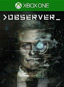 >observer_ Xbox One Código de Resgate 25 Dígitos