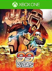 99Vidas Xbox One Código 25 Dígitos