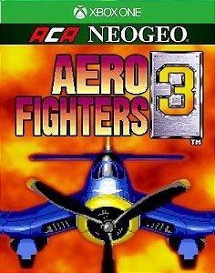 ACA NEOGEO AERO FIGHTERS 3  Xbox One Código 25 Dígitos