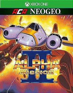 ACA NEOGEO ALPHA MISSION II  Xbox One Código 25 Dígitos