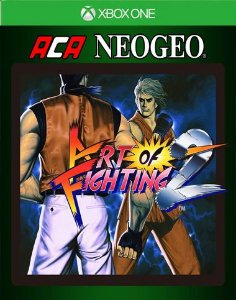 ACA NEOGEO ART OF FIGHTING 2 Xbox One Código 25 Dígitos