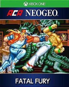 ACA NEOGEO FATAL FURY Xbox One Código 25 Dígitos