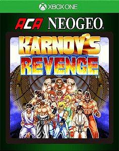 ACA NEOGEO KARNOV'S REVENGE Xbox One Código 25 Dígitos